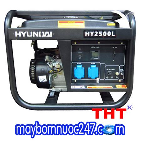 Máy phát điện chạy xăng HYUNDAI  HY2500L (2.0-2.2KW)