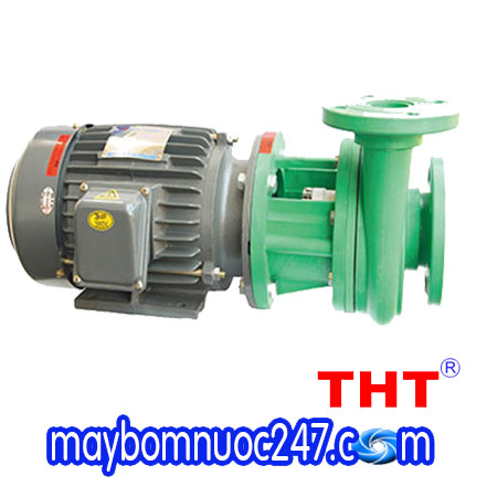 Máy bơm hóa chất công nghiệp đầu nhựa NTP UVP280-13.7 20 5HP