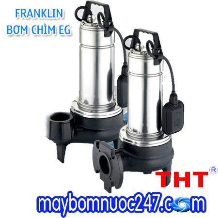 Máy bơm chìm hút nước thải Franklin EGT 7 F 1HP 220V