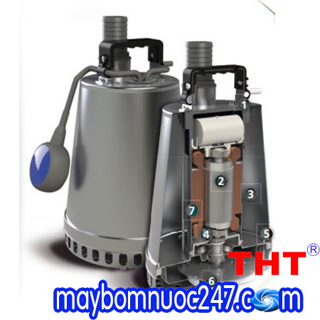 Máy bơm chìm nước thải Zenit DR-STEEL 25M